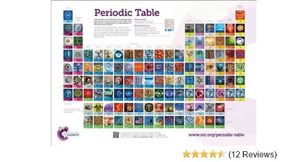 Rsc periodic table wallchart a0 amazon murray robertson rsc periodic table wallchart a0 amazon murray robertson 9781849736787 books urtaz Images