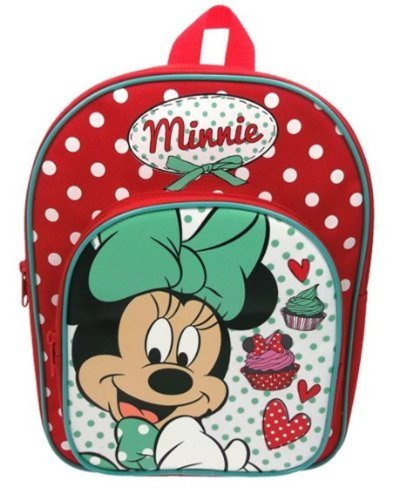 Disney Minnie Mouse Red and White Spotty Rucksack