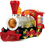 #9: Toyshine Bubble Engine Toy with Music, Lights, Real Bubble Action