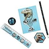 Jurassic World 5pezzi set scrittura