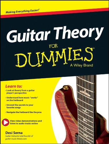 Guitar Theory For Dummies: Book + Online Video & Audio Instruction (English Edition) (Gitarre Modi Für)
