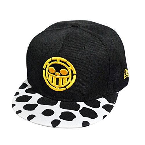 Amlaiworld Stickerei Snapback Boy Hiphop-Hut justierbare Baseballmütze Unise (Gelb)