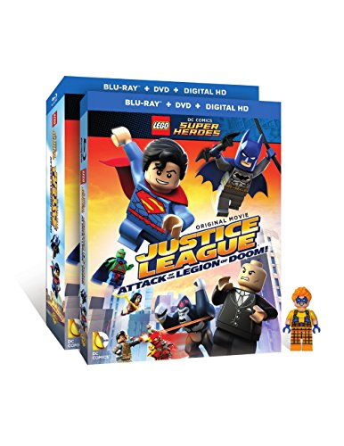 LEGO DC SUPER HEROES: JUSTICE LEAGUE (W/FIGURINE) - LEGO DC SUPER HEROES: JUSTICE LEAGUE (W/FIGURINE) (2 Blu-ray)