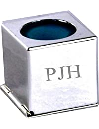 Personalised Silver Plated Snooker Pool Chalk Holder