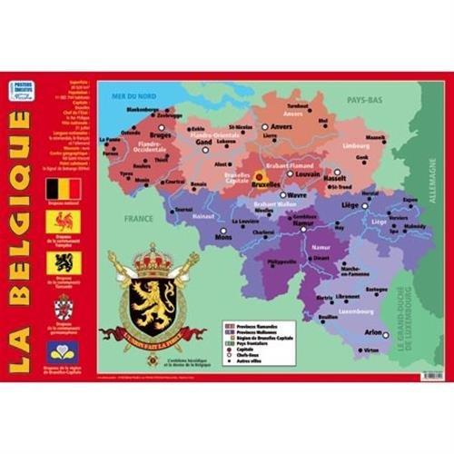 Poster recto verso La Belgique
