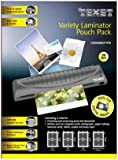 Texet Laminator Pouches Variety Pack (Pack of 50)