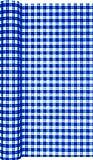 Unbekannt Tischläufer Karo blau/kariert/neutral/zeitlos/Oktoberfest/bayrisch 490x40cm