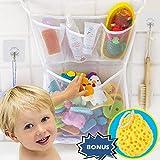 Wemk Cuarto de baño de almacenamiento de juguete de almacenamiento de...