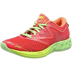 Asics Noosa FF, Zapatillas de Running Mujer, Multicolor (Diva Pink/Paradise Green/Melon), 37 EU