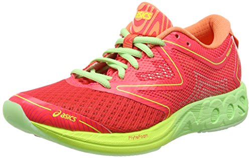 asics-womens-noosa-ff-running-shoes-multicolor-diva-pink-paradise-green-melon-55-uk