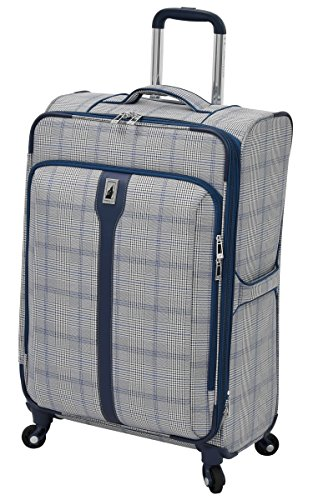 london-fog-knightsbridge-hl-25-expandable-spinner-grey-navy-plaid