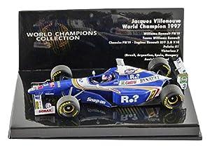 Minichamps 436970003 1:43 1997 Williams Renault FW19 - J.Villeneuve World Champion