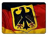 Mauspad German Flag Design