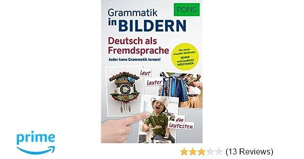 PONS Grammatik in Bildern Deutsch als Fremdsprache: Jeder kann ...