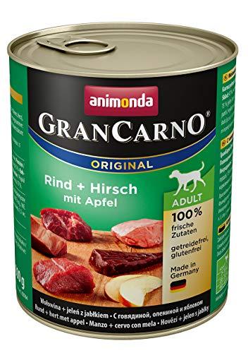 Animonda Gran Carno - Cibo per cani adulti, diverse varietà, (6x800 gr)