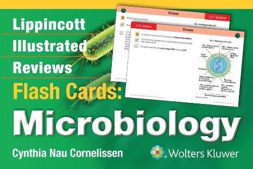 Lippincott Illustrated Reviews Flash Cards: Microbiology (Lippincott Illustrated Reviews Series) by Cynthia Nau Cornelissen Ph.D. (2014-07-30) par Cynthia Nau Cornelissen Ph.D.