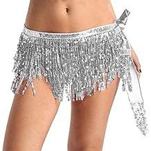 d68726adaeb8 MSemis Ceinture Jupe Costume Tenue Foulard Robe Danse Orientale pour Femme  Ceinture Danse Orientale Femme Costume
