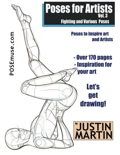 Vavrinec Fiachra: Read PDF Poses for Artists Volume 3
