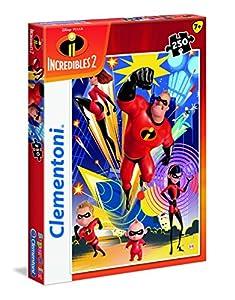 Clementoni Supercolor-The Incredibles 2-250Piezas Puzzle, 29056, Multicolour