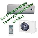 Full Inverter Split-Klimageräte 3,4 kW Klimaanlage Comfee Easy Quick