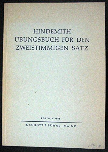 Unterweisung im Tonsatz: Übungsbuch für den zweistimmigen Satz. Band 2.