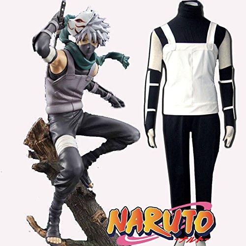 ime Naruto Kakashi Anbu Cosplay Neues Outfit, Größe S ( Alle Größe Sind Wie Beschreibung Gesagt, überprüfen Sie Bitte Die Größentabelle Vor Der Bestellung ) (Anbu Cosplay Kostüm)