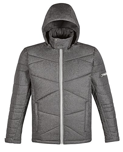 Mens North End (Men's Avant Tech M?lange Insulated Jacket with Heat Reflect Technology CARBN)