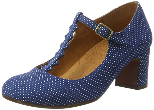 Chie Mihara Jacare30, Sandales  Bout ouvert femme Blau (punti navy)