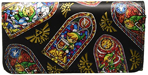 Nintendo: Zelda Wind Waker Stained Glass Girls Portafoglio