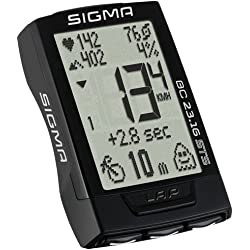 Sigma Sport 02317 Ciclocomputador, Unisex Adulto, Negro, Talla Única