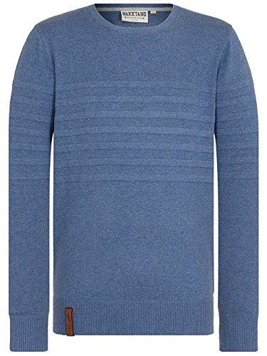 Naketano Male Knit Schmiergelvampir V Blue Melange