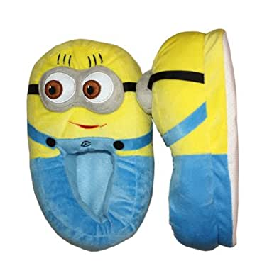 Despicable Me Plush Soft Minion Shoes Slippers Dave