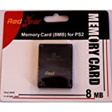 Red Gear-RG 8MB Memory Card for PS2