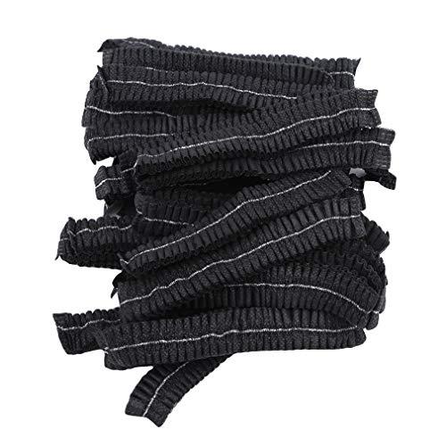 Faliya 100 Piezas Desechables Pelo Net Caps Sombrero