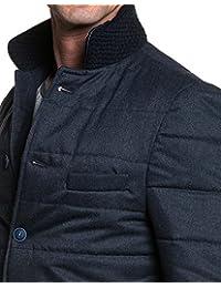 BLZ jeans - Veste homme navy chic boutonnée