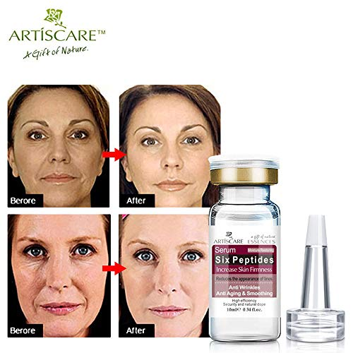 ARTISCARE Hyaluronic Six Peptides Sérum Anti-âge + Acide Hyaluronique + Vitamine Sérum Blanchissant Soins de la peau Essence