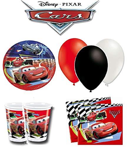 Disney Cars kit Anniversaire 8 Personnes