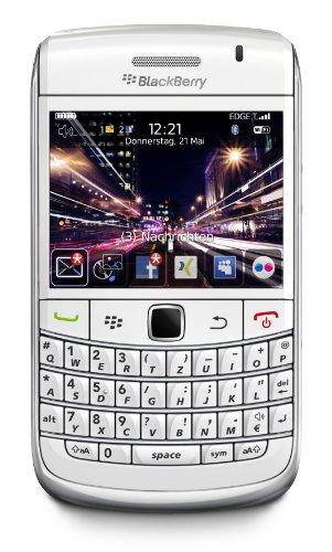 BlackBerry Bold 9700 Smartphone (QWERTZ-Tastatur, 3 Megapixel-Digitalkamera, GPS-Empfänger, UMTS, WLAN, HSDPA) weiß