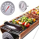 KING DO WAY Barbecue Termometro Acciaio Inossidabile Gauge Grill come l'imagine Diametro: 52mm