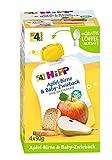 HiPP Apfel-Birne und Baby-Zwieback, 4er Pack (4 x 90 g)