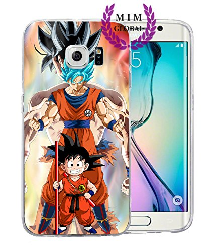 MIM Global Dragon Ball Z Super GT Protectores de Samsung S Series Case