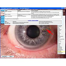 Digitale Augendiagnose Arbeitsprogramm & Grundlagen Augen10 (Irisdiagnose) Software