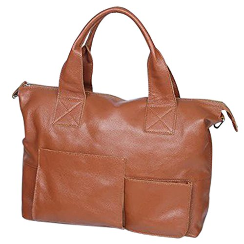 Santimon Borsa Messenger, Khaki (Marrone) - 20180130036 Brown