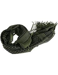 93c8e0b7061 Slolvedi Scarf Mufflers Men Army Military Tactical Arab Shemagh Keffiyeh  Shawl Scarves Wrap Army Green