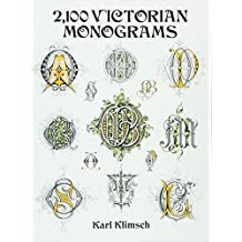 2100 Victorian Monograms (Dover Pictorial Archives)