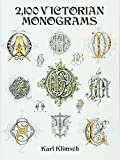 2,100 Victorian Monograms (Dover Pictorial Archive Series)