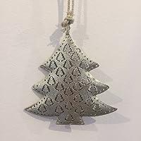 Weihnachtsbaum Deko Hänger Metall Christbaumschmuck 12,5 cm