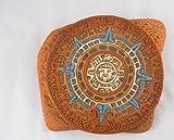 Orologio calendario in ceramica-commercio equo e solidale in Messico-per interni o esterni L27x H23CM