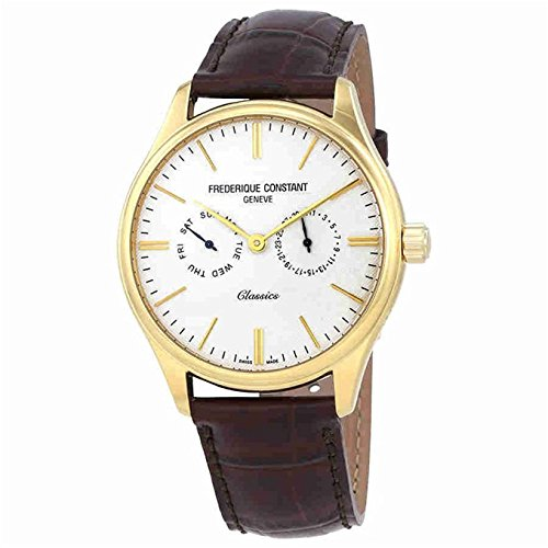 Frederique Constant Geneve Classics Quartz FC-259ST5B5 Reloj de Pulsera para hombres Con pulsera adicional