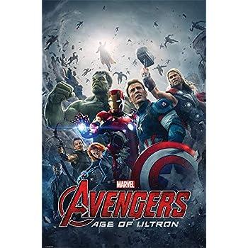 Pyramid International Team Avengers Age of Ultron Maxi Poster, 61/x 91.5/x 1.3/cm